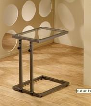 Coaster Furniture Cairine modern adjust Copper Snack Table