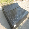 Grooved Cow rubber mat/black cow rubber matting