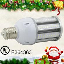 UL E27 E40 Corn LED Lamp Post Garden