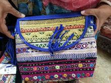 Vintage Suede Banjara bags,Bohemian tote Boho Sling Bags