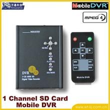 1-ch mini dvr standalone CCTV DVR for car/bus/mobile/vehicle, etc.