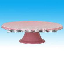 Ceramic Pink cake stand