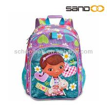 2014 China factory funny school backpacks 600d nylon