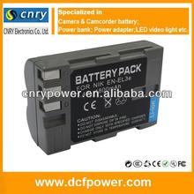 Hot sale EN-EL3e EL3e ENEL3e Battery for Nikon D100 D200 D300 D300S D50 D70 D70S D80 D90 DSLR D700 high quality+1 year warranty