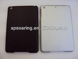 hard case for ipad mini 2 Fiber carbon skin case cover