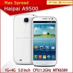 haipai A9500 5 inch QHD screen 540x960 pixels MTK6589 quad core shenzhen android phone