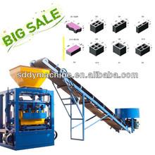 QT4-24 semi automatic brick making machine offer