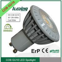 Best selling LED Spotlight Dimmable GU10 COB 5W