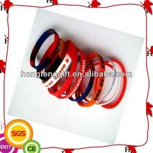 fashion cool basketball silicone wristband for adult