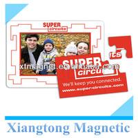 Picture Frame Magnet-Puzzle-Extra Large Magnetic Refrigerator Photo Frame /Fridge Magnetic Photo Frame