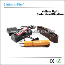 UniqueFire 3 watt Cree yellow Led Light Flashlight pouch