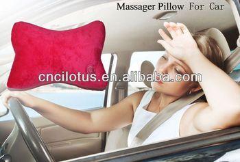shiatsu massage pillow back massage pillow cushion car use massager pillow
