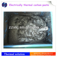 High performance electrically conductive carbon paste