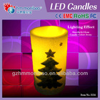 2014 hand carved moving wick flameless led candle