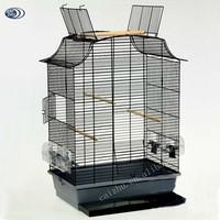 Open Top Canary Parakeet Cockatiel Finch Bird Cage