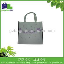 non-woven garment bag/silver laminated non-woven tote bag