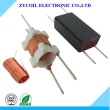 Plastic bobbin transformer coil