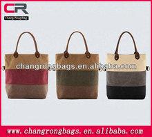 2014 New Girls fashion canvas handbag fashion leisure women's handbag