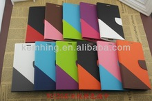for Nokia lumia N1520 colorful wallet leather case with card slots for N1520