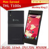 5.0 Inch FHD Gorilla Glass Screen android 4.2 BLACK ThL T100S touch screen phone