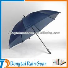 "60"" Fiberglass Shaft Windproof Golf Umbrella with Ergonomic Handle"