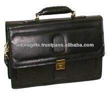 ADALCB - 0039 hotsales business laptop bag / leather laptop messenger bags for girls / leather laptop case/computer bag