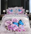 2014 yeni tasarım 3d baskılı yatak seti, nevresim, yastık sham, çarşaf