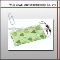 Superfine fiber and fresh design glasses pouch