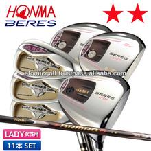 [lady's golf club] Honma golf BERES E-01 club set 11pc(1W,3W,5W,#5-#11,SW) ARMRQ 6 40 carbon shaft 2S