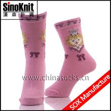Thermal Leg Warmer Girls 100% Cotton Socks