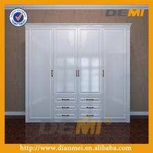 bedroom modern solid wood white color design bedroom furniture wardrobe