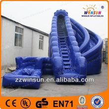 TOP SALE EN71 EN14960 EN15649 Wholesale 0.55mm PVC Commercial tarpaulin china commercial children inflatable water slide