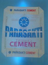 Kraft Paper Block Bottom Valve Bag Cement Valve Bag 20kg