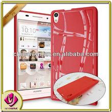 tpu accessory case for Huawei Ascend P6