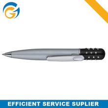 2 Color Grid Elegant Metal Ball Pen
