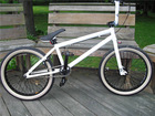 Aluminum hub integrated headset steel frame and fork bmx haro bike
