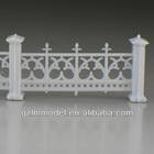 plastic scale model railing balcony stair outdoor LG200-07 1:200