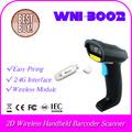 sensor de imagem cmos 2d 32 bit cpu qr sem fio wireless handheld barcode scanner de código de barras leitor