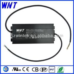 For 302W 54V led street light aluminum case Waterproof IP67 CC led driver