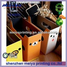 lovely custom corrugated cardboard furniture paper document folder storage box for office document