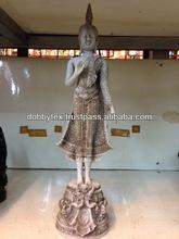 Antique / Old resin buddha sculpture