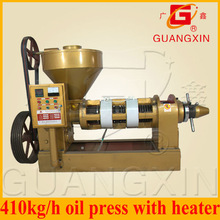 410kg/h cold press sesame oil press machine with electric box