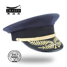 Milan beer angora high quality navy uniform peaked hat