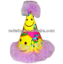 feather deco paper party hat