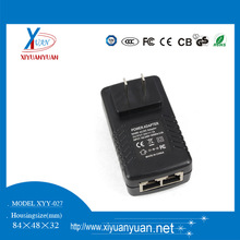 CE FCC CB ROHS CCC 48v 1a poe power adapter
