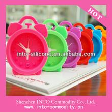 For Promotion Gift / Silicon Mini Cute Alarm Clock