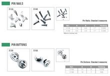 Pin Nails - Pin Buttons