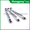 Chrome Plated Double Offset Ring Spanner electric car jack and wrench