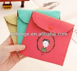 Girl secret sanitary napkin receive bag