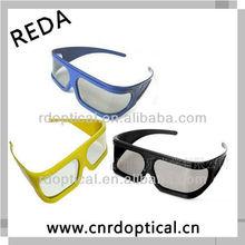 black frame low price plastic 3d glasses for imax cinema